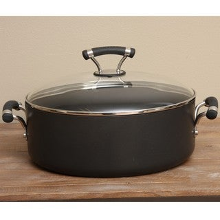 Circulon Contempo Hard Anodized Nonstick 7.5-quart Covered Wide Stockpot