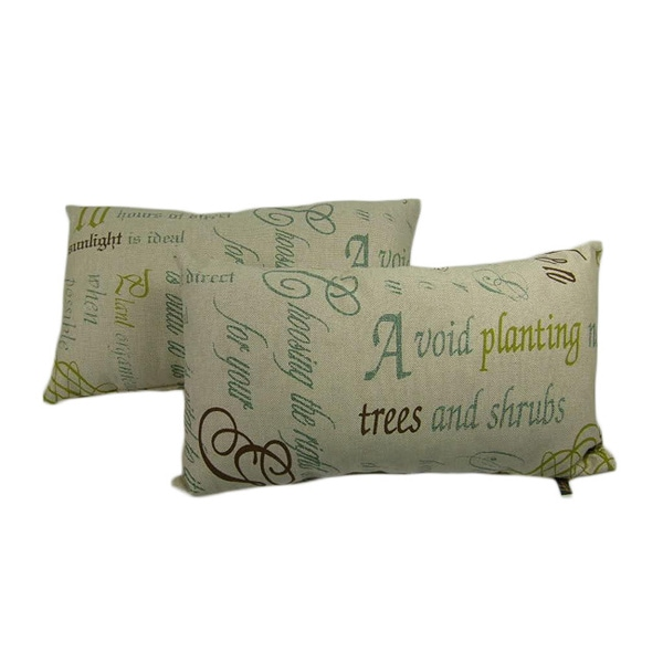 Chatsworth Citron Throw Pillows (Set of 2)