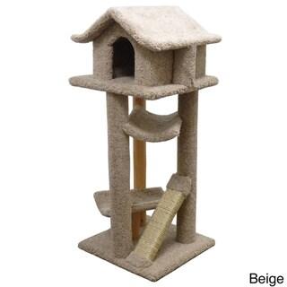 New Cat Condos Fully Assembled Large Pagoda Cat Tree/Condo