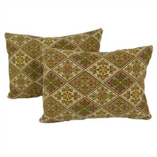 Floral Throw Pillows (Set of 2)