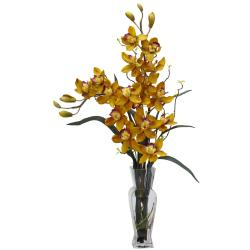 Cymbidium Plant with Small Vase