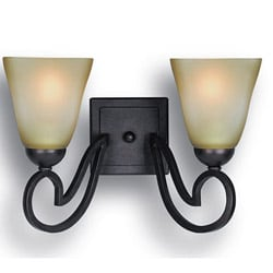 Woodbridge Lighting Palermo 2-light Bordeaux Bath Sconce