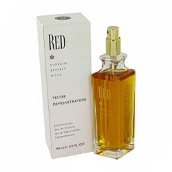 Red by Giorgio Beverly Hills 3-ounce Eau de Toilette Spray for Women (Tester)