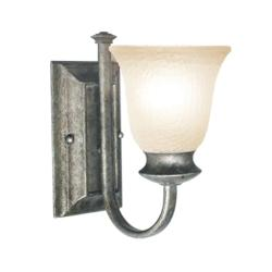 Woodbridge Lighting Dresden 1-light Greystone Wall Sconce