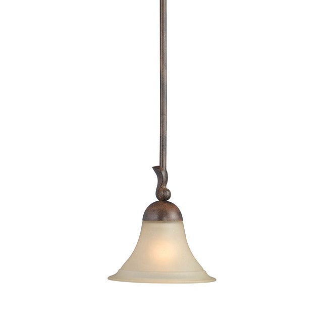 Woodbridge Lighting Darien 1-light Royal Bronze Mini