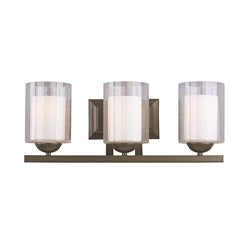 Woodbridge Lighting Cosmo 3-light Bronze Bath Bar