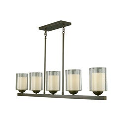 Woodbridge Lighting Cosmo 5-light Bronze Pendant