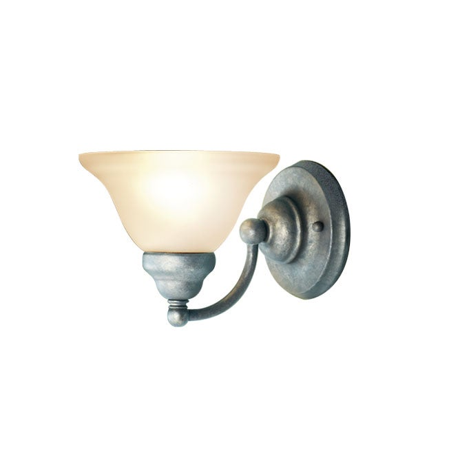 Woodbridge Lighting Anson 1-light Greystone Bath Sconce