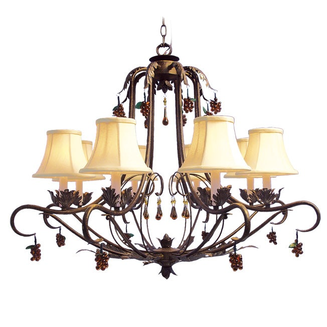 Woodbridge Lighting Brandywine 8-light Autumn Chandelier