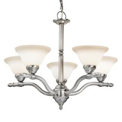Woodbridge Lighting Cambria 5-light Satin Nickel Chandelier
