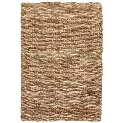 Devi Natural Tan Coir and Jute Rug (8' x 10')