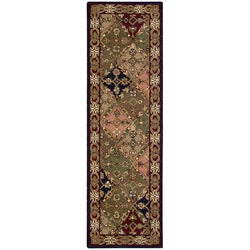 Nourison Hand-tufted Caspian Multicolor Wool Rug (2'3 x 7'6)