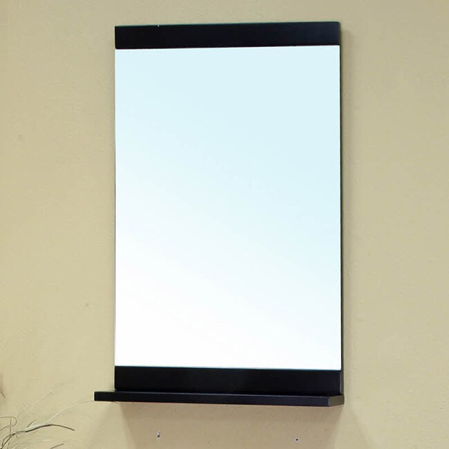 Visconti Black Bathroom Vanity Mirror 13902512