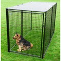 AKC Black Welded Wire Kennel (6x5x10)