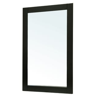 Tarrazo Black Bathroom Vanity Mirror