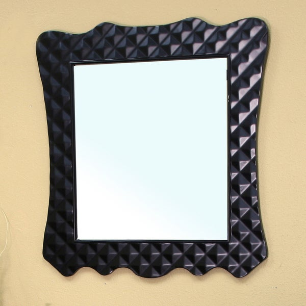 Veneto Bathroom Vanity Mirror (Black)