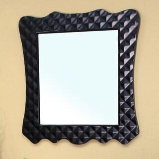 Veneto Black Bathroom Vanity Mirror
