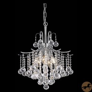 Christopher Knight Home Crystal 6-light Chrome Chandelier