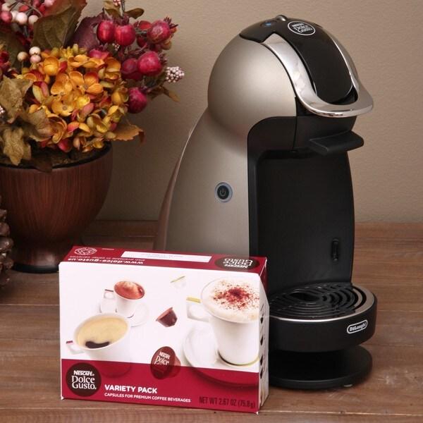 DeLonghi Dolce Gusto Genio Single Serve Espresso/ Coffee Maker