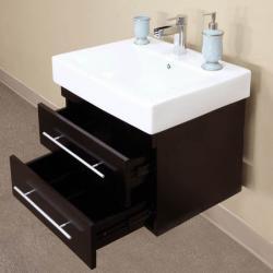 Castelli Black Bathroom Vanity