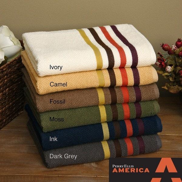Perry Ellis Park Avenue 3-piece Towel Set