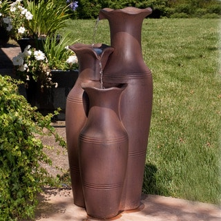 Bond Manufacturing Oresti Envirostone Outdoor Fountain