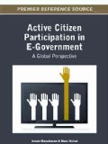 Active Citizen Participation in E-Government: A Global Perspective (Hardcover)