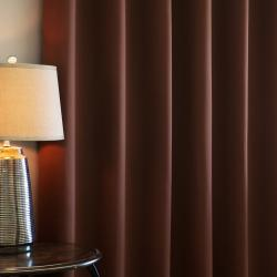 Wide-Width Fire-Retardant 95-Inch Polyester Blackout Curtain Panel