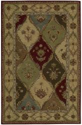 Nourison Hand-tufted Caspian Multcolor Wool Rug (2'6 x 4')