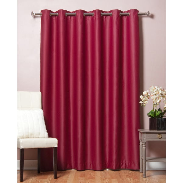 Lights Out Wide Fire Retardant 96-inch Blackout Curtain Panel