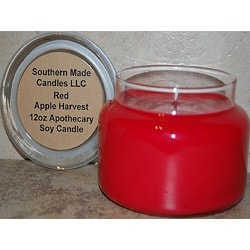 Southern Made Candles Apple Harvest 12-oz Soy Apothecary Candle