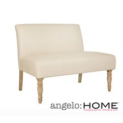 angelo:HOME Bradstreet Marzipan Cream Renu Loveseat
