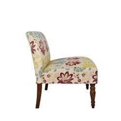 angelo:HOME Bradstreet Spring Sandstone Beige and Blue Floral Loveseat