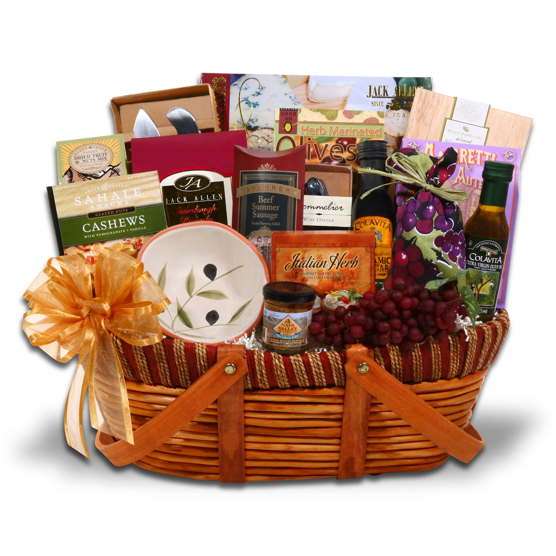 Tuscan Traditions Gift Basket