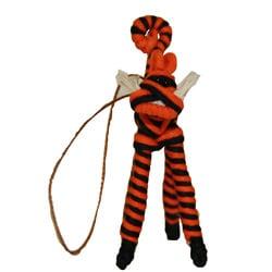Global Handmade Hope Yarn Tiger Ornament (Colombia)