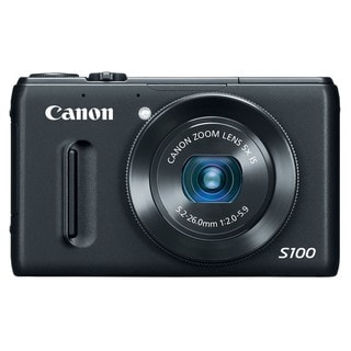 Canon PowerShot S100 12.1MP Black Digital Camera