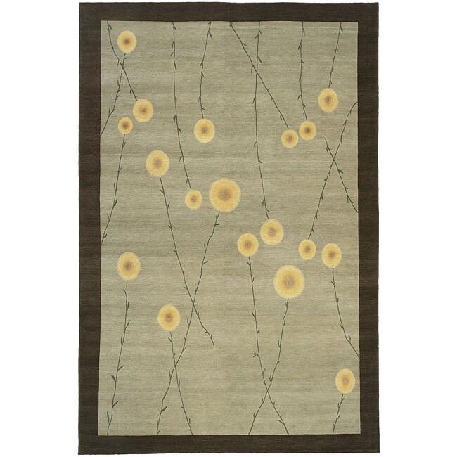 Nepalese Jardin Wool Rug (8 x 10)