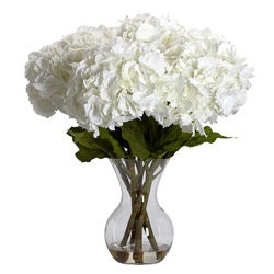 Large Hydrangea with Vase