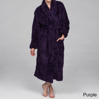 Alexander Del Rossa Women's Super-Plush Belted Microfiber Bathrobe