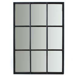 Iron 9-pane Window Mirror (India)