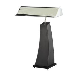Chrome and Black Granite Desk/ Task Lamp