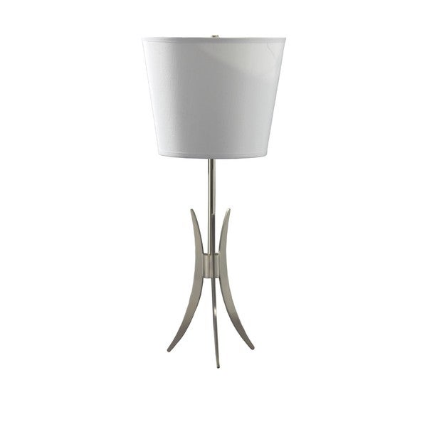 White Shade 3-leg Desk Lamp