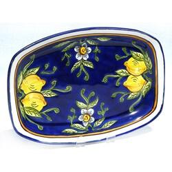 Citronique Design 13-in Rectangular Platter (Tunisia)