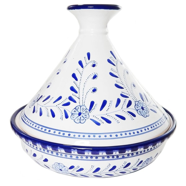 Azoura Design Ceramic 10-inch Serving Tagine (Tunisia)