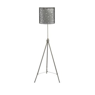 Telescope Tri-pod Shade in Shade Floor Lamp