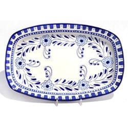 Azoura Design 13-in Rectangular Platter (Tunisia)