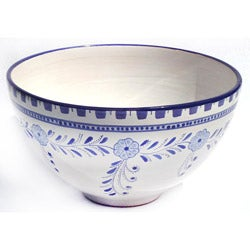 Azoura Design 12-in Large Serving Bowl (Tunisia)