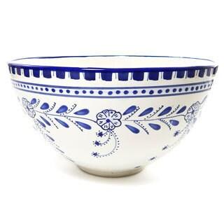 Azoura Design 12-in Large Serving Bowl (Tunisia)