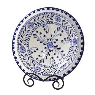 Azoura Design 12-in Small Serving Bowl (Tunisia)