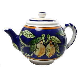 Citronique Design Ceramic 24-oz Teapot (Tunisia)